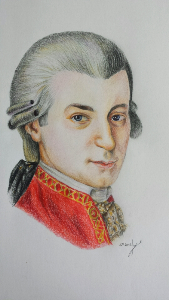Wolfgang Amadeus Mozart by Narnia